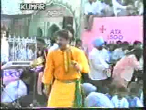 Gurdass Mann At Dargah Baba Ali Ahmed Abdulla Shah...