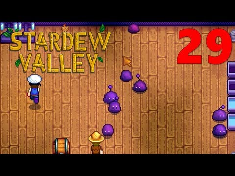 [29] GHOST'S PURPLE SLIME COLLECTION (Stardew Valley Multiplayer)