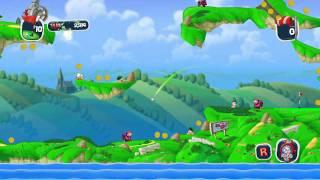 Worms Crazy Golf Trailer