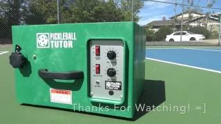 Pickleball Tutor (Pickleball Machine) Review-THE PICKLEBALL COACH