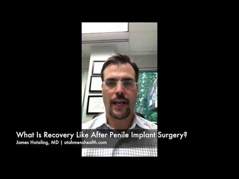 What is Recovery Like After Penile Implant Surgery?