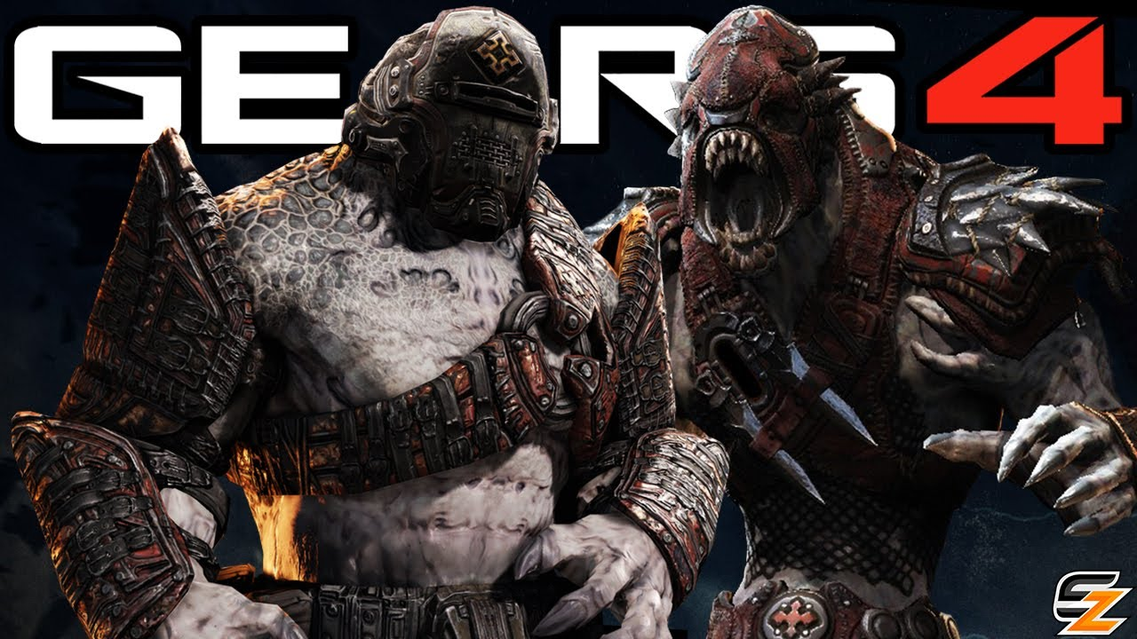 Gears of War 4 - The Next New Locust Characters!