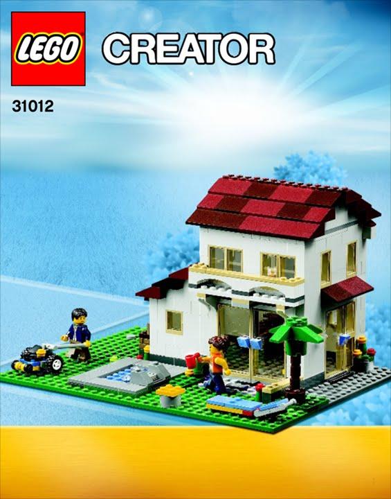 31012 Family House Lego Creator 34 Youtube
