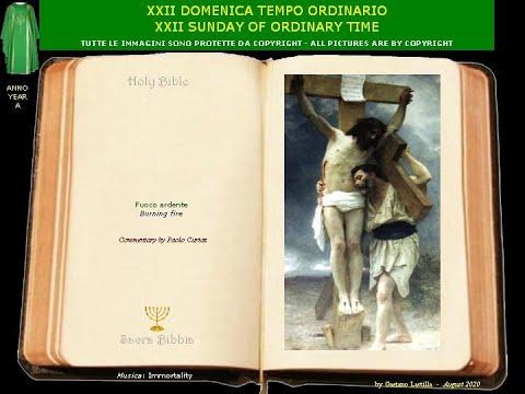 Se qualcuno vuol venire dietro a me, rinneghi se stesso, prenda la sua croce e mi segua.