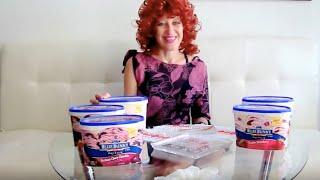 Мороженое фирмы 'Синий Заяц'. Обзор.