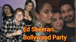 farah-khan-and-ed-sheeran-dance-at-party-in-mumbai---srk-shahid-and-others-inside-pictures
