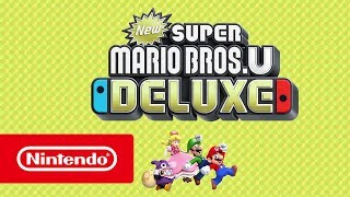 New Super Mario Bros. U Deluxe - Overview Trailer (Nintendo Switch)
