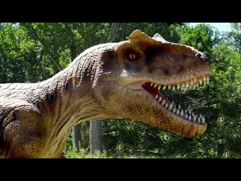 Jurrasic Kingdom Dinosaurus Expositie Beatrixpark Schiedam Youtube