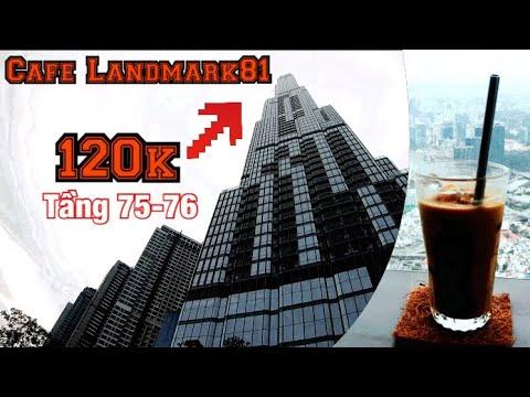 Landmark 81: Trải nghiệm quán cafe Blank Lounge tầng 75 cao nhất Sài Gòn | FOOD | Sơn Gia