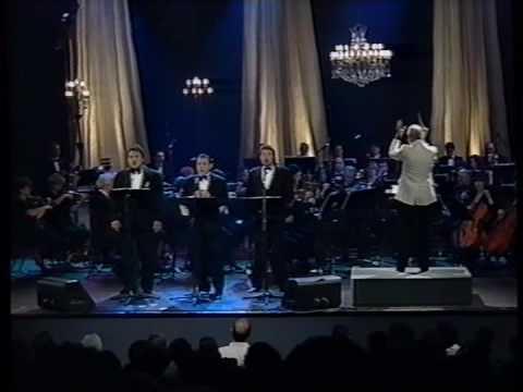 דוד קריבושי-שלושת הטנורים שרים את כל נדרי 1995