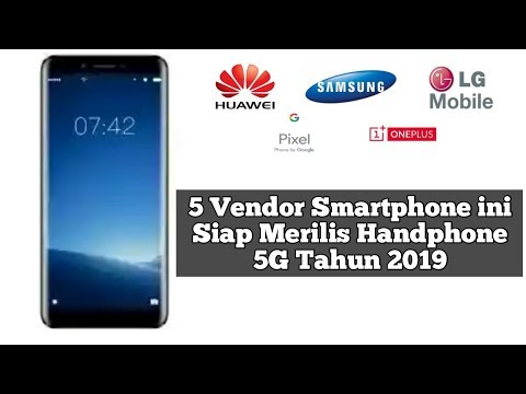 Daftar 5 Hp Terbaru Segera Rilis 2019 Smartphone Dengan Jaringan 5g