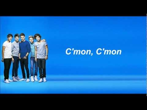 One Direction - C'mon C'mon (Lyrics and Pictures)