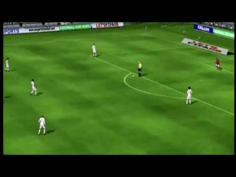 FIFA 09 Overhead/Bicycle Kicks Easy Tutorial