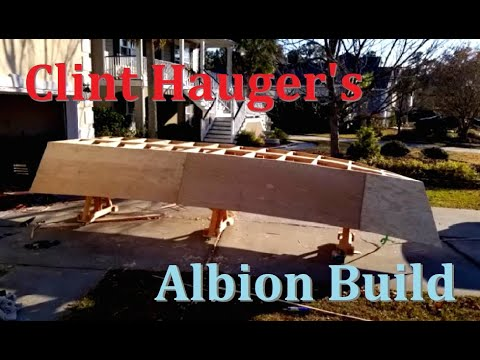 Building a Wooden Boat (Albion Pacific Dory) in My Garage - Clint Hauger