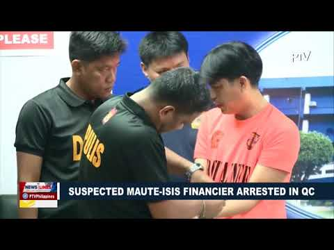 Suspected Maute-ISIS financier arrested in QC