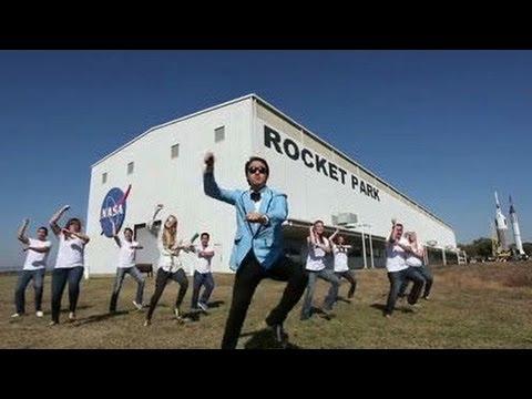 Hit Song Gangnam Style Goes NASA Johnson Style! (Gangnam Style Parody)