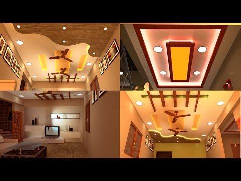 Small Living Room Gypsum False Ceiling 1 Bhk Small Duplex