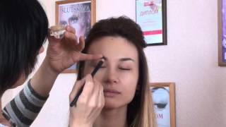 Вечерний макияж Визаж  Обучение визажу(Вечерний макияж от преподавателя