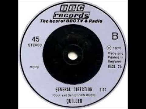 Richard Denton and Martin Cook [Aka: Quiller] ~ General Direction [1975]