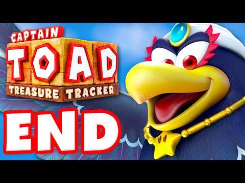 Captain Toad: Treasure Tracker - Gameplay Walkthrough Part 14 - ENDING! 100%