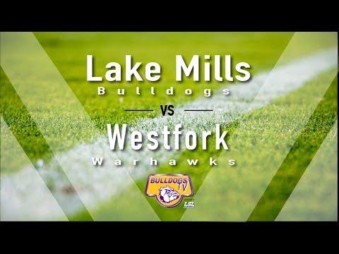 Lake Mills High School Football vs Westfork