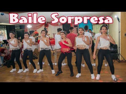 Genesis's Quinceañera baile sorpresa BACHATA , PUNTA,MERENGUE