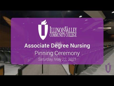 Illinois Valley Community College - Nursing Pinning Ceremony