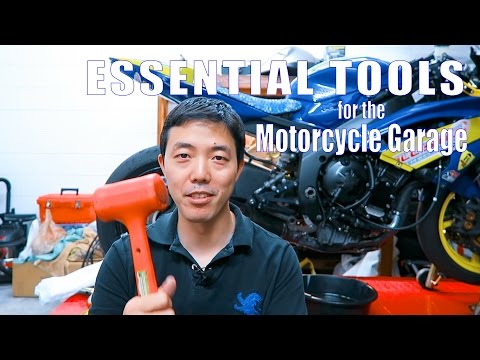 Essential Tools For The Motorcycle Garage