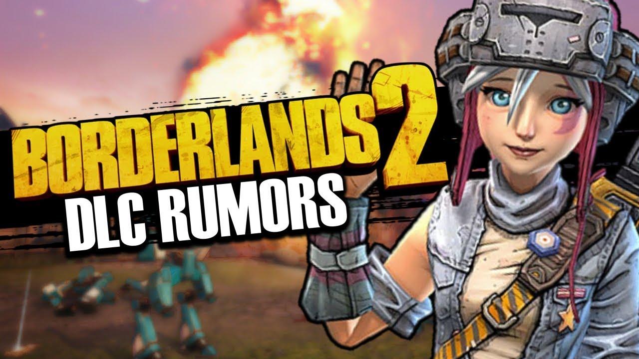 Borderlands 2 DLC RUMORS! New Content Before BL3, Steam DB Updates, & More!