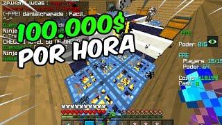 ⭐Factions #6 - COMO GANHAR 100K POR HORA, REVELANDO MEU MÉTODO! - Minecraft PE 1.2.9/1.1.5