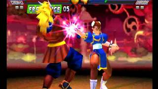 Street Fighter EX 2 Plus (PlayStation) Arcade as Chun-Li