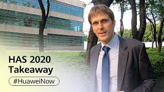 Huawei Global Analyst Summit 2020 Takeaway