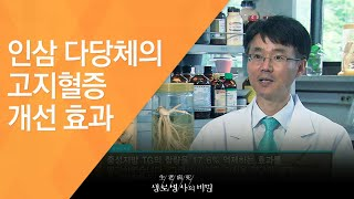 인삼 다당체의 고지혈증 개선 효과 - (2011.7.2…