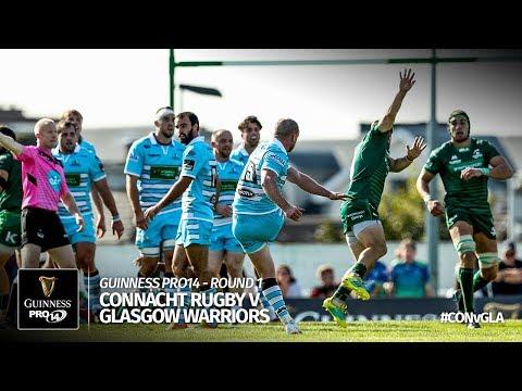 Guinness PRO14 Round 1 Highlights: Connacht v Glasgow Warriors