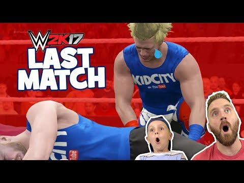 WWE 2k17 TIE BREAKER: Lil' Flash Vs DadCity Family Battle #3 For The KIDCITY TITLE!