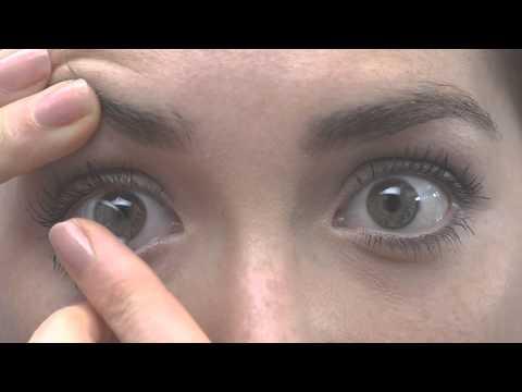 Come mettere le lenti a contatto