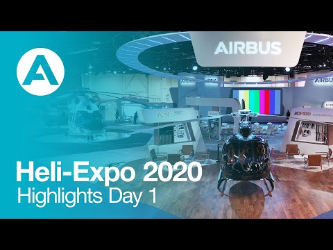 Heli-Expo 2020 - Highlights Day 1 - Live from Anaheim