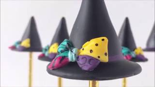How to Make a Witch Hat Cake Pop
