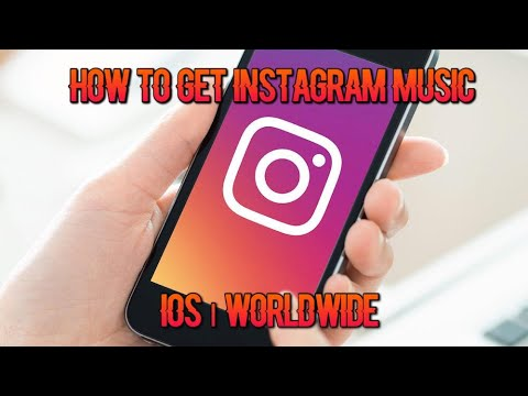 HOW TO GET INSTAGRAM MUSIC | IOS WORLDWIDE