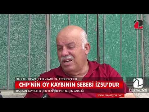 Başkan Çiçek, CHP'nin oy kaybını İZSU faaliyetlerine bağladı