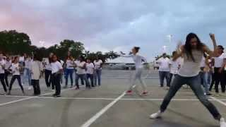 Footloose Flash Mob with Kevin Bacon