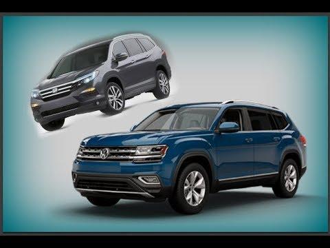 Volkswagen atlas vs honda pilot dare to compare for Honda pilot vs vw atlas