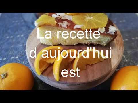 recette-gâteau-à-l'orange-🍊un-délice-😋