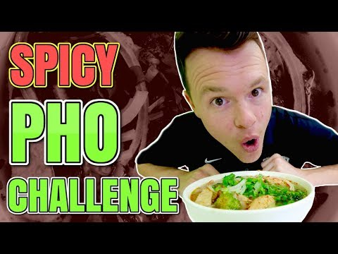 Spicy Pho Challenge / Vegan