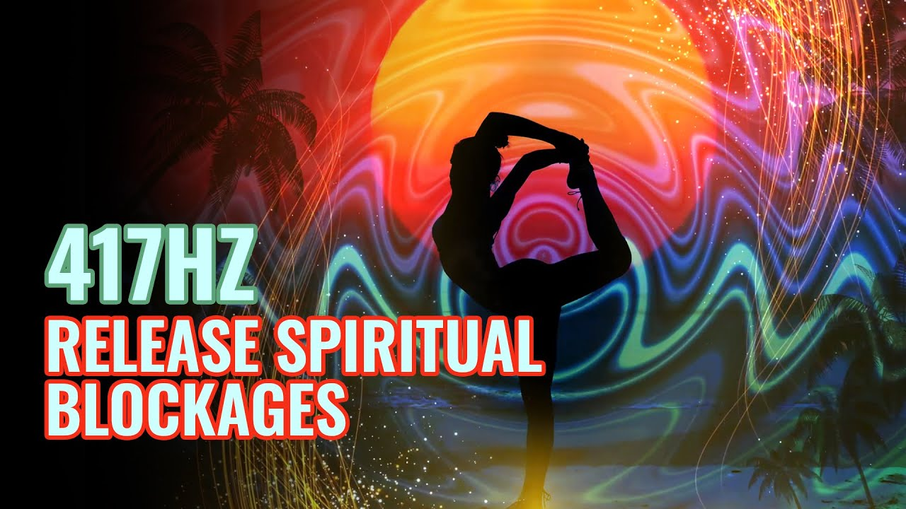 (Within a Minute) Ease Your Mind & Body: 417 Hz Release Spiritual Blockages | Theta Binaural Beats