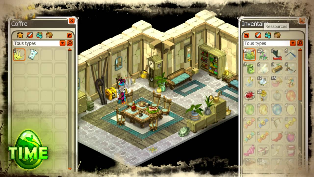 dofus time les maisons youtube. Black Bedroom Furniture Sets. Home Design Ideas