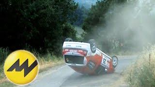 Crash folge 10 rallye, bergrennen, rundstrecke - motorvision