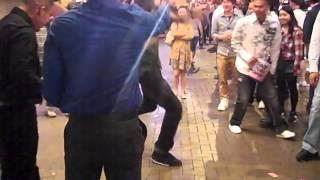 The Shuffle v.s. C Walk v.s. The Jerk v.s. Traditional Indian Dance Off