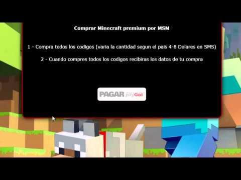 Comprar Minecraft Premium Por Sms Barato Todos Los Paises Barato