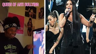 Demi Lavoto- Sorry Not Sorry Live At The 2017 AMAs (REACTION)